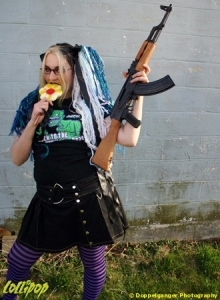 Anais Del Lilith | Guns N Lollipops | Photos by Doppelganger Photography