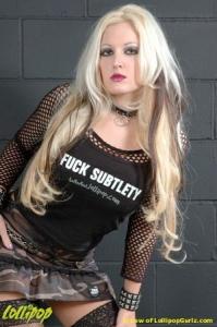 Angelia | Fuck Subtlety | Photos by Lew Vividere