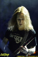 Children of Bodom - 100% Metal Fest Headbangers' Weekend, Istanbul, Turkey May 2014 | Photos by Burcu Ergin