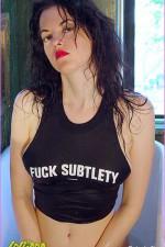 Cynthia | Fuck Subtlety | Photos by Pia