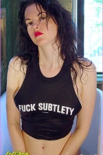 Cynthia | Fuck Subtlety | Photos by Pia