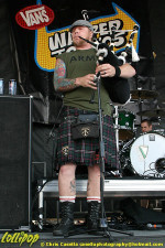 Dropkick Murphys - Warped Tour Columbus, OH June 2005 | Photos by Chris Casella