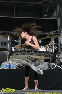 Flyleaf - Rock on the Range Columbus, OH May 2009   Photos by Chris Casella
