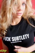 Jena | Fuck Subtlety | Photos by Scott Church