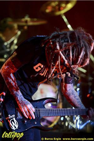 Korn - Rock Off Fest Istanbul, Turkey August 2015   Photos by Burcu Ergin