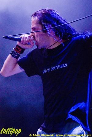 Lamb of God - Rockstar Mayhem Chicago, IL July 2010 | Photos by Adam Bielawski