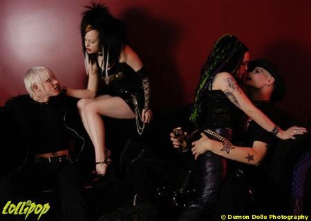 Lounge Like A Rockstar   Photos by Demon Dolls Photography