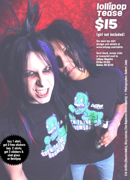Model Tee Ads from Issue 65: Ajax