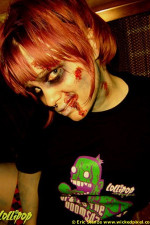 Nos | Zombie Schoolgirl | Photos by Eric Stanze