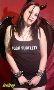 Scarlett | Fuck Subtlety | Photos by Scott Hefflon