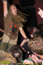 Strike Anywhere - Cafe Metropolis Wilkes-Barre, PA July 2005 | Photos by Gary Strack