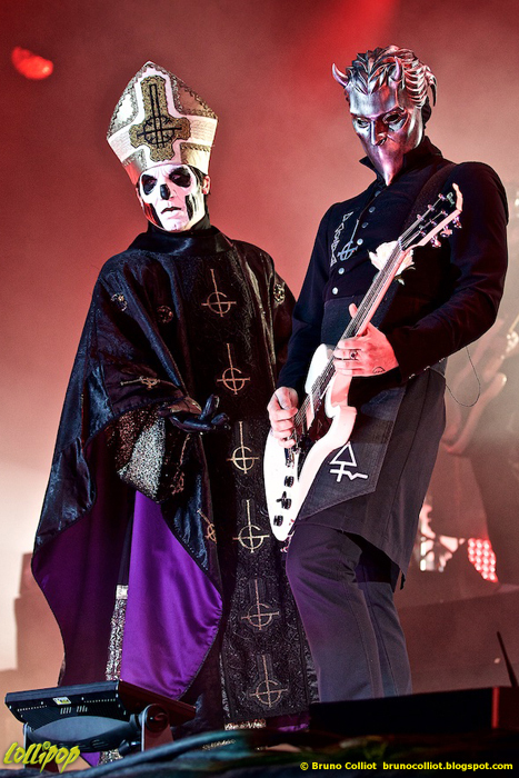 Ghost - Hellfest Clisson, France June 2016 | Photos by Bruno Colliot
