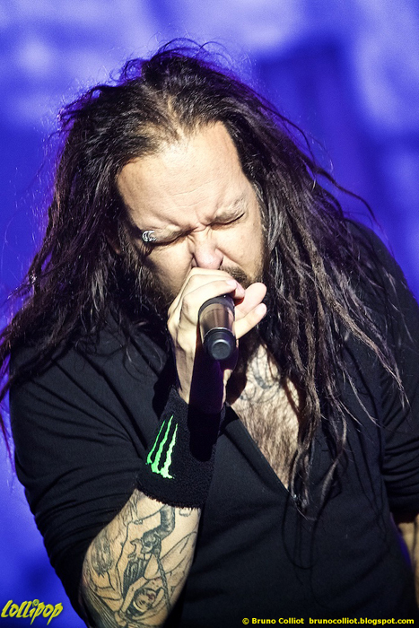 Korn - Hellfest Clisson, France June 2015 | Photos by Bruno Colliot