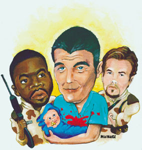 Garbage Pail - Movie Combinations: Three Kings and a Baby