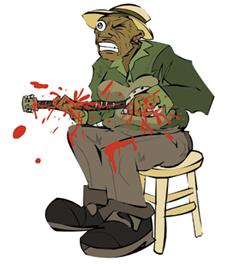 Bloody Hands Hawkins