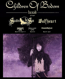 Swallow The Sun Tour with Children of Bodom – News